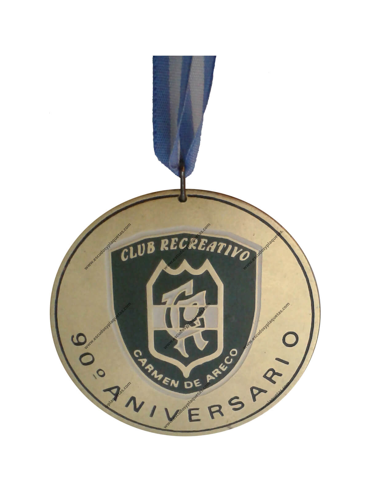 Medalla club recreativo Carmen de Areco